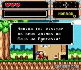 Turma da Monica na Terra dos Monstros (Brazil) ROM Download