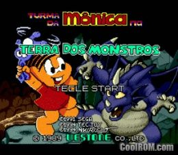Turma da Monica na Terra dos Monstros (Brazil) ROM Download for Sega