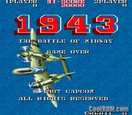 1943: The Battle of Midway (US, Rev C) ROM Download for MAME