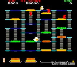 Burger time midway rom download for mame for Cool roms