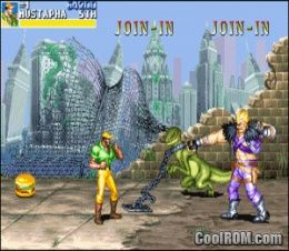 gioco cadillacs and dinosaurs