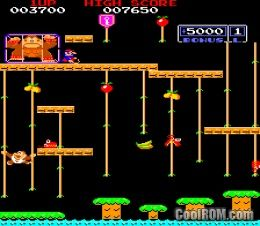 Donkey kong junior e kit rom download for mame coolrom for Cool roms