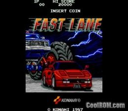 Fast Lane ROM Download for MAME - CoolROM com