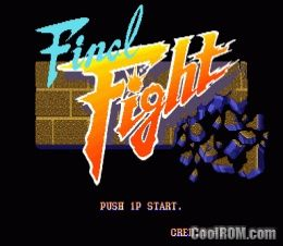 Final Fight (World, set 1) ROM Download for MAME - CoolROM com