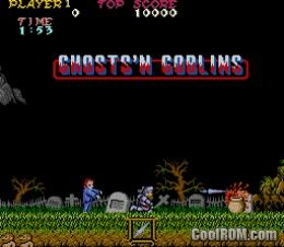 Ghosts N Goblins World Set 1 Rom Download For Mame