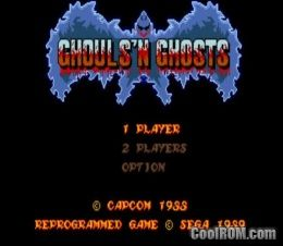 Ghouls'n Ghosts (World) ROM Download for MAME - CoolROM com