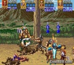 golden axe the revenge of death adder rom