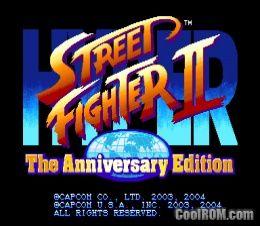 Hyper Street Fighter II: The Anniversary Edition (USA 040202) ROM
