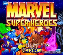 Marvel Super Heroes (USA 951024) ROM Download for MAME - CoolROM com