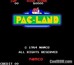 Pac-Land (United Amusements PC Engine) ROM Download for MAME