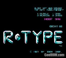 R-Type (Japan) ROM Download for MAME - CoolROM com