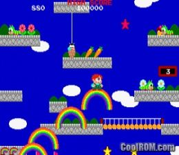 Rainbow Islands (old version) ROM Download for MAME