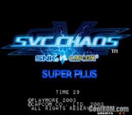 SNK vs  Capcom - SVC Chaos Super Plus (bootleg) ROM Download
