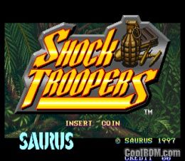 Shock Troopers (set 1) ROM Download for MAME - CoolROM com
