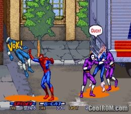 Spider-Man: The Videogame (World) ROM Download for MAME