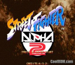Street Fighter Alpha 2 (Euro 960229) ROM Download for MAME - CoolROM com