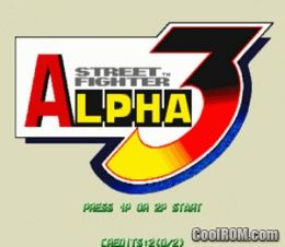 Street Fighter Alpha 3 (Euro 980904) ROM Download for MAME - CoolROM com