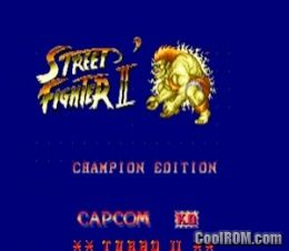 Street Fighter Ii Champion Edition Xiang Long Chinese Bootleg