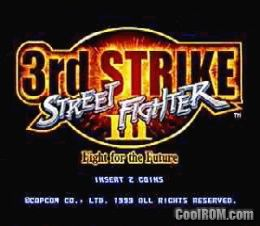 Street Fighter III 3rd Strike: Fight for the Future (Euro 990608