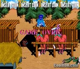 Sunset Riders (4 Players ver EAC) ROM Download for MAME