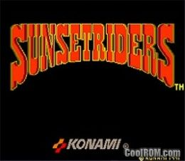 Sunset Riders (4 Players ver EAC) ROM Download for MAME - CoolROM com