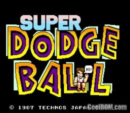 Super Dodge Ball (US) ROM Download for MAME - CoolROM.com