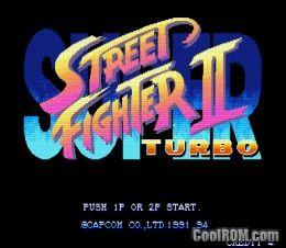 Street fighter 2 turbo rom download for sega genesis coolrom. Com.