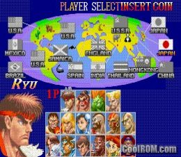 Super Street Fighter II: The New Challengers (World 931005