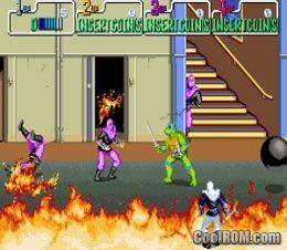 Teenage Mutant Ninja Turtles (World 4 Players) ROM Download