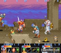 The King of Dragons (World 910805) ROM Download for MAME