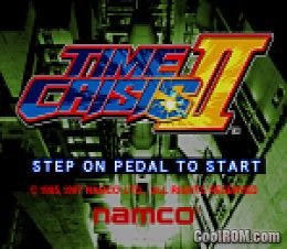 Time Crisis II (TSS3 Ver  B) ROM Download for MAME - CoolROM com