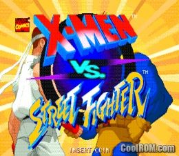 X-Men Vs  Street Fighter (Euro 961004) ROM Download for MAME