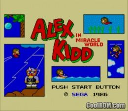 alex kidd sega game free download