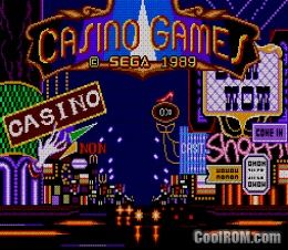 casino games master system