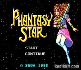 Phantasy Star ROM Download for Sega Master System - CoolROM com