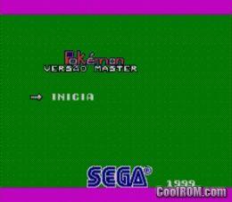 Pokemon Master V2 0 (Psycho Fox Hack) ROM Download for Sega