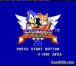 Sonic the Hedgehog 2 ROM Download for Sega Master System