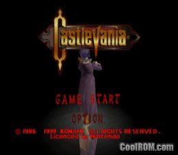 Castlevania ROM Download for Nintendo 64 / N64 - CoolROM com
