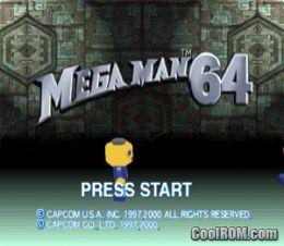 Mega Man 64 ROM Download for Nintendo 64 / N64 - CoolROM com