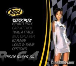 RR64 - Ridge Racer 64 Nintendo 64 / N64 ROM