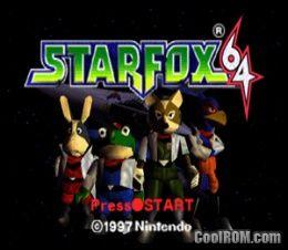 Star Fox 64 Rom Download For Nintendo 64 N64 Coolrom Com