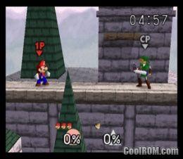Super Smash Bros  ROM Download for Nintendo 64 / N64 - CoolROM com