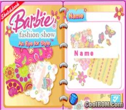 Barbie Fashion Show An Eye For Style Rom Download For Nintendo Ds Nds