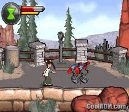 Ben 10 - Protector of Earth ROM Download for Nintendo DS
