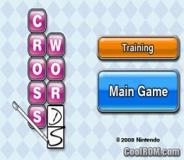 Crosswords ds rom download for nintendo ds nds for Cool roms