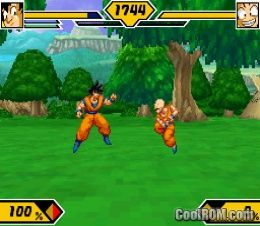 dragon ball z supersonic warriors 2 nds fr