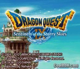 dragon quest ix sentinels of the starry skies download