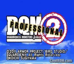 Dragon Quest Monsters - Joker 2 Professional (Japan) ROM Download
