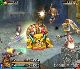 Final Fantasy Crystal Chronicles: Echoes of Time USA DS