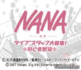 NANA - Live Staff Daiboshuu! Shoshinsha Kangei (Japan) ROM Download